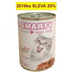 SMARTY chunks JUNIOR CAT 410g lamb-8967