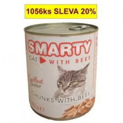 SMARTY chunks Cat Hovězí 810 g