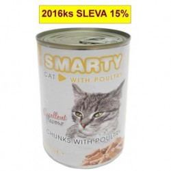 SMARTY chunks CAT 410g POULTRY-drůb.-7742