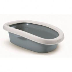 WC ovál malý Sprint, modrošedá