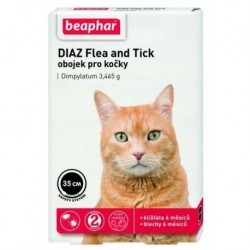 Antiparazitní obojek Beaphar DIAZ kočka 35 cm
