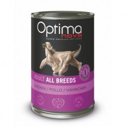 Optimanova Dog Chicken 400g-konzerva-14882