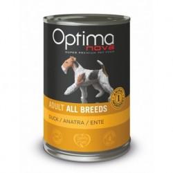 Optimanova Dog Duck Grain free 400g-konzerva-14884
