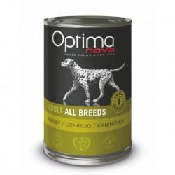 Optimanova Dog Rabbit Grain free 400g-konzerva-14885
