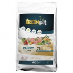 IRONpet TURKEY Puppy Large 12kg-14967
