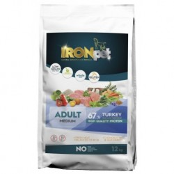 IRONpet TURKEY Medium Adult 12kg-14964