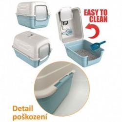 WC s filtrem a lopatkou RotoToilet - SLEVA 15 % (II.jakost)