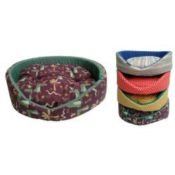 Pelíšek molitan č.2-42x34x16cm-3598 různé dekory