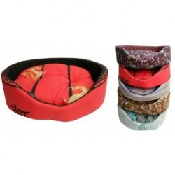 Pelíšek molitan č.5-60x49x20cm-3600 různé dekory