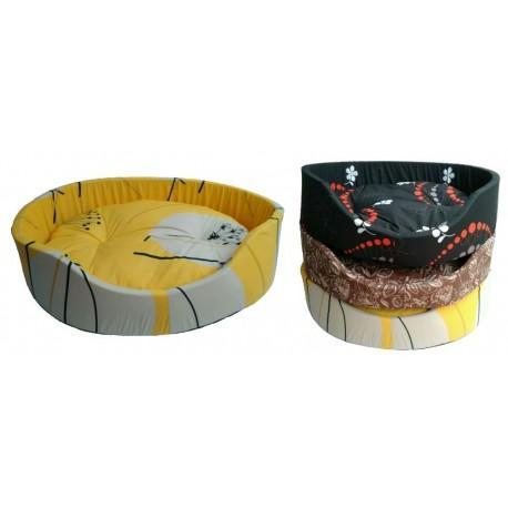 Pelíšek molitan č.10-94x76x28cm-3604 různé dekory