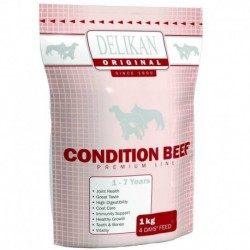 DELIKAN dog ORIGINAL Condition BEEF 1kg-11789