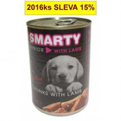 SMARTY chunks JUNIOR DOG 410g lamb-8966
