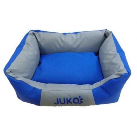 Pelíšek odolný JUKO XL:89x70x20cm-Modrá-13810