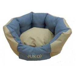 Pelíšek odolný JUKO koruna béžová S 53x47x21 cm