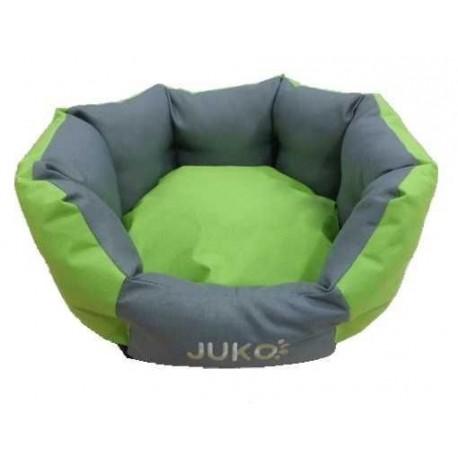 Pelíšek odolný JUKO koruna XL:74x63x25cm-Zelená-13821