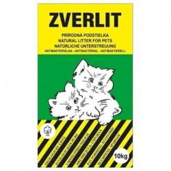 ZVERLIT zelený podestýlka hrubá 10 kg - SLEVA 10 % (poškozený obal)