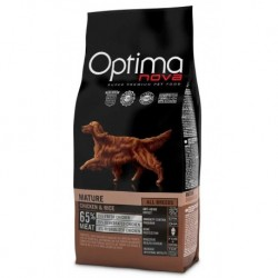 OPTIMAnova dog MATURE 12kg-POŠKOZENY OBAL-Sleva 20%-13319