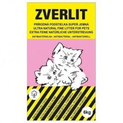 ZVERLIT růžový podestýlka super jemná 6 kg - SLEVA 10 % (poškozený obal)