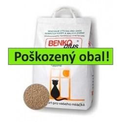 Benko hrudkující stelivo 5 kg - SLEVA 10 % (poškozený obal)