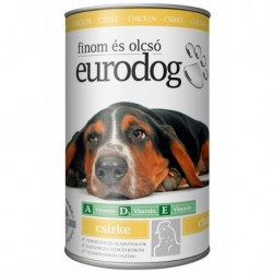EuroDog Can with Chicken 1240g-15206