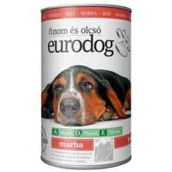 EuroDog Can with Beef 1240g-15207