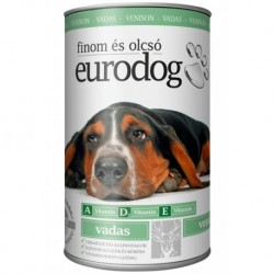 EuroDog Can with Venison 1240g-15208