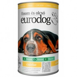 EuroDog Can with Chicken 415g-15209