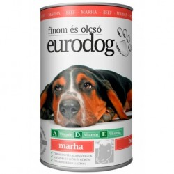 EuroDog Can with Beef 415g-15210