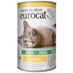 EuroCat Can with Chicken 415g-15212