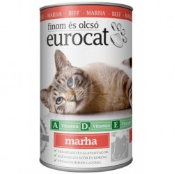 EuroCat Can with Beef 415g-15213