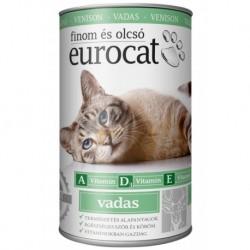 EuroCat Can with Venison 415g-15214