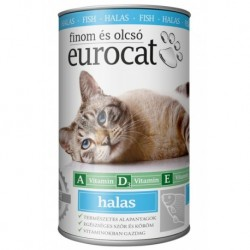 EuroCat Can with Fish 415g-15215