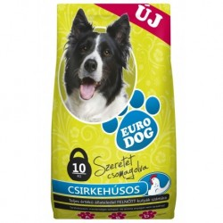 EuroDog Dry food with Chicken 10kg-15218