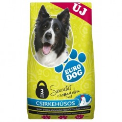 EuroDog Dry food with Chicken 3kg-15219