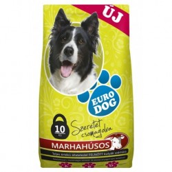 EuroDog Dry food with Beef 10kg-15220