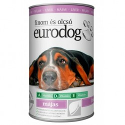 EuroDog Can with Liver 415g-15222