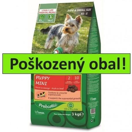 Kiramore Dog Puppy Mini 15kg-POŠKOZENY OBAL-Sleva 20%-15231