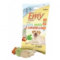 Emy Fruit LATTE,... 90g mléko, máta, karamel-15245