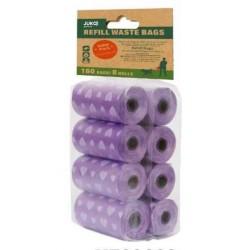 Hygienické sáčky s vůní borovice JUKO (8x20 ks)