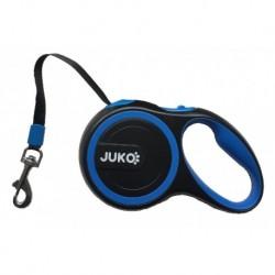 Samonavíjecí vodítko L 5m 50kg tape - modrá-14985
