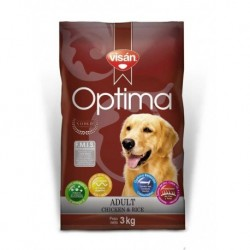 Visán OPTIMA Adult Chicken&Rice 3kg-6711