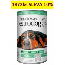 EuroDog with Venison 415g-15211
