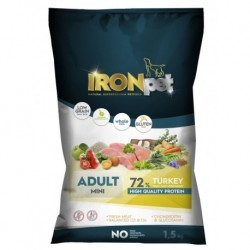 IRONpet TURKEY Mini Adult 1,5kg-15264