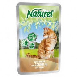 Naturel cat pouches RABBIT 100g-033042