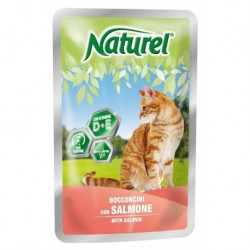 Naturel cat pouches SALMON 100g-033044