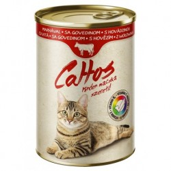 Cattos Cat with Beef 415g-15380