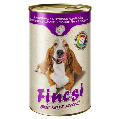 Fincsi Dog with Poultry 1240g-15378