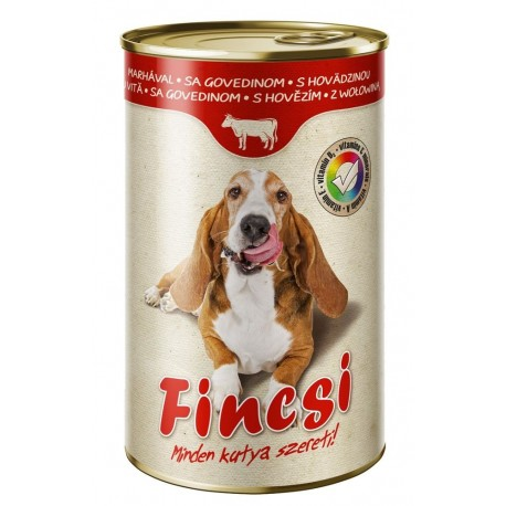Fincsi Dog with Beef 1240g-15376