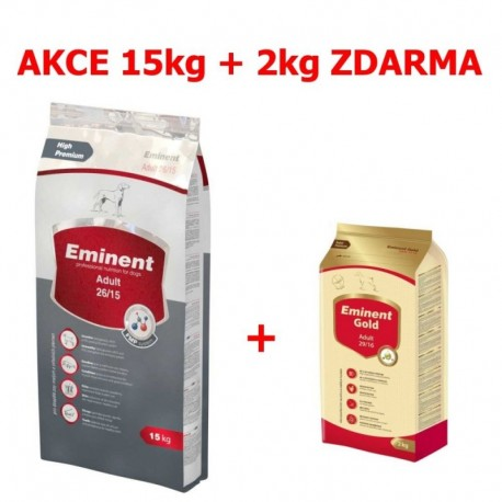 Eminent dog ADULT 15kg+Gold 2kg ZDARMA-15262