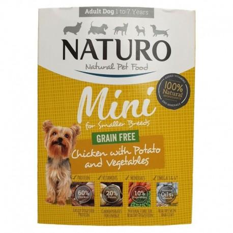 Naturo Grain Free Chicken Mini 150g -15411